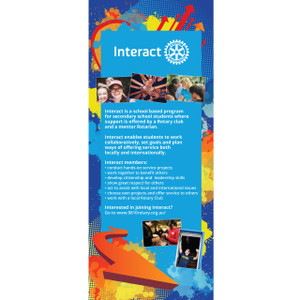 Interact Pull Up Banner