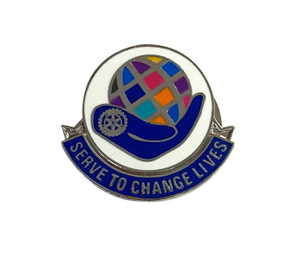 Rotary 2021-22 Theme Magnetic Lapel Pin