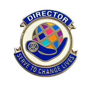 Rotary 2021-22 Theme Director Lapel Pin