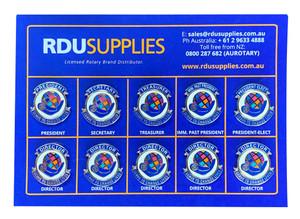 Rotary 2021-22 Theme Directors Lapel Pin Set