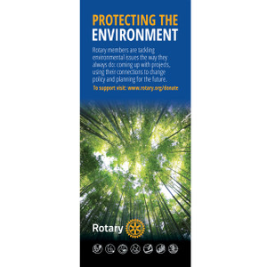 Rotary Foundation Environment Pull-up Banner