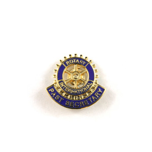 Rotary Past Secretary Lapel Pin