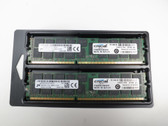 CT2K16G3ERSLD4160B CRUCIAL 32GB KIT DDR3 1600 RDIMM 2Rx4 CL11 PC3L-12800 1.35V 240-PIN