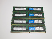 CT4K32G4RFD4213 CRUCIAL 128GB DDR4 2133 ECC REGISTERED DUAL RANK x4 CL15 PC4-17000 1.2V 288-PIN SDRAM MODULE