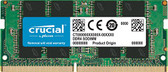 CRUCIAL 16GB DDR4 2400 SODIMM 2Rx8 CL17 PC4-19200 1.2V 260-PIN SDRAM MODULE