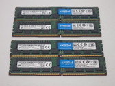 CT4K16G4RFD424A-KIT CRUCIAL 64GB DDR4 2400 RDIMM 2Rx4 PC4-19200 SDRAM KIT =  4 x 16GB  MODULES