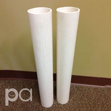 Putterman Pvc 24 Quot Ground Sleeves For 2 7 8 Quot Round Posts
