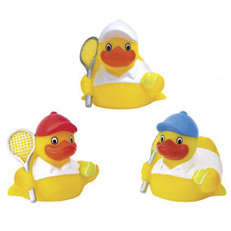 Rubber Tennis Duck