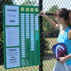 Pickleball Challenge Ladder
