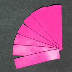 Pink Lines - Set of 9