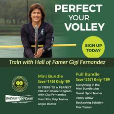 Gigi Fernandez 10 Steps to a Perfect Volley