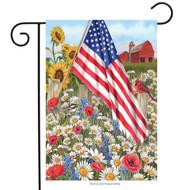 America the Beautiful Garden Flag