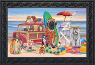 Dog Days of Summer Doormat