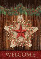 Holiday Barnstar House Flag