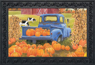 Pumpkin Patch Pickup Doormat