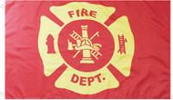 Fire Department Grommet Flag