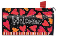 Valentine Large Mailbox Cover