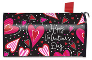 Dancing Hearts Mailbox Cover