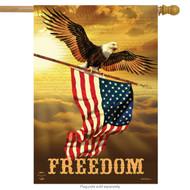 Freedom Eagle House Flag