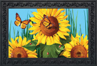 Sunflower Field Doormat