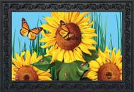Sunflower Field Doormat