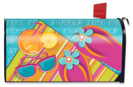 Pool Party Large Mailbox Cover