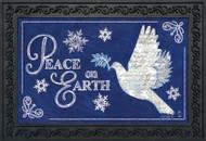Peace On Earth Doormat