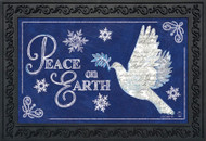 Peace On Earth Doormat