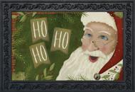 Primitive Santa Doormat