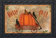 Prized Pumpkin Doormat