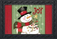 Snowman Joy Doormat