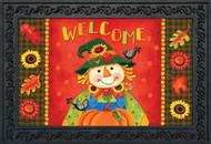 Harvest Scarecrow Doormat