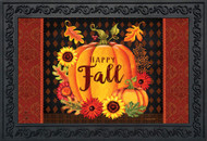 Happy Fall Pumpkin Doormat