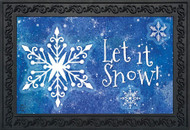 Snowflakes Collection Doormat