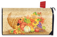 Fall Bounty Large Mailbox Cover