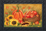 Pumpkin And Apples Doormat