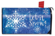 Snowflakes Mailbox Cover