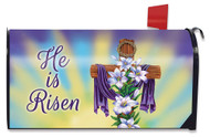 Easter Cross Religious Mailbox Cover