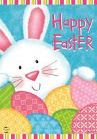 Bunny and Eggs Garden Flag