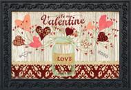 Lovely Hearts Doormat