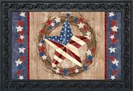 Americana Barnstar Doormat