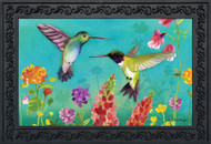 Hummingbird Greeting Doormat
