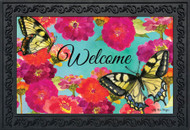 Morning Butterflies Doormat