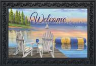 Waterfront Retreat Welcome Doormat