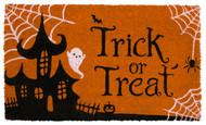 Trick Or Treat Coir Doormat (Case Pack - 4)