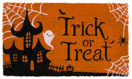 Trick Or Treat Coir Doormat (Case Pack - 4)