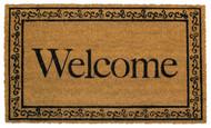 Welcome Coir Doormat (Case Pack - 4)