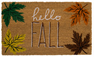 Hello Fall Coir Doormat (Case Pack - 4)