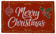 Merry Christmas Coir Doormat (Case Pack - 4)