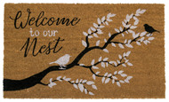 Welome To Our Nest Coir Doormat (Case Pack - 4)